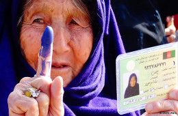 High-turnout-for-Afghanistan-landmark-election